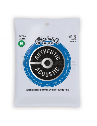 MARTIN MA170 Authentic Acoustic SP® 80/20 Bronze, Extra Light