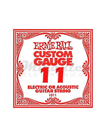 Ernieball corda 011 mi cantino elettrica acustica
