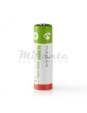 Nedis - AA Stilo Batteria ricaricabile, confezione da 4 prezzi
