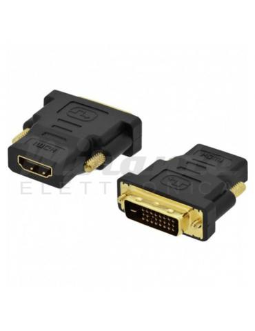 Life Adattatore spina DVI-D 24+1 a presa HDMI
