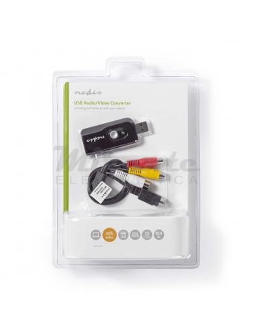 Nedis Grabber video USB Audio Video Convertitore, per Windows