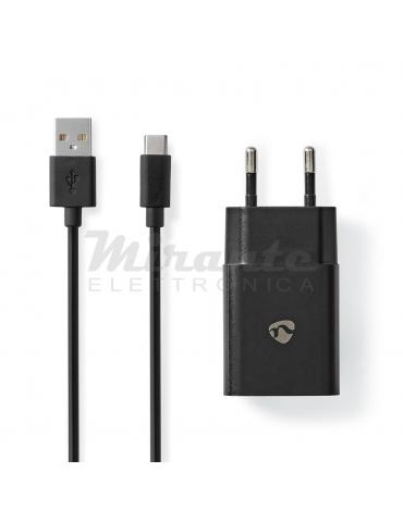 Nedis 12W Alimentatore Caricabatterie con cavo USB tipo C