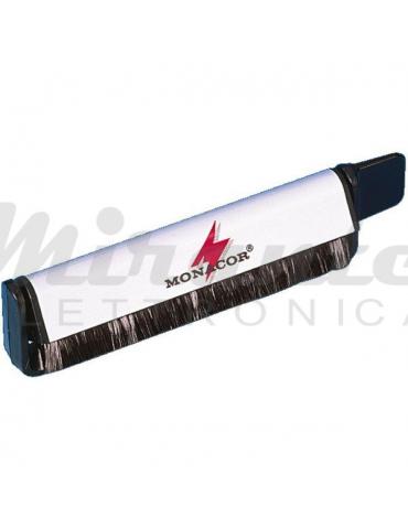 Monacor DC-100 Spazzola Antistatica per Vinile, in fibra di carbonio