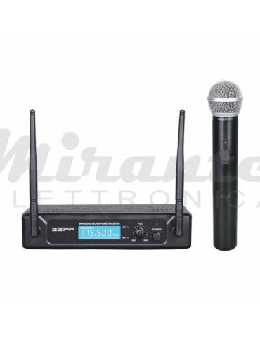 ZZIPP TXZZ201 Set radiomicrofono senza fili VHF 175,50Mhz, grigio