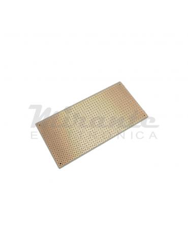 Basetta millefori 100X50 per circuiti elettronici passo 2,54