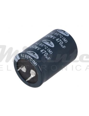 470uf 450v Condensatore Elettrolitico Snap-in, 85 gradi
