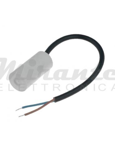 Miflex Condensatore per motori 10uf 450v, con fili