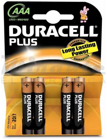 Duracell - AAA Mini Stilo Plus, confezione da 4 pezzi