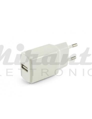JOIN KD503/1B Caricatore USB 10.5W - 1 porta 5V 2.1A - Bianco