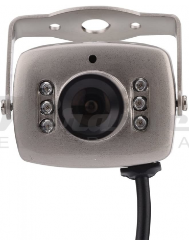 Mini Telecamera di Sicurezza, 6 LED Wired CMOS CCTV Night Vision