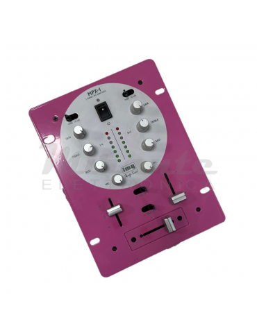 IMG StageLine MPX-1MOT/VT, Mixer 2 Canali, Rosa Pink