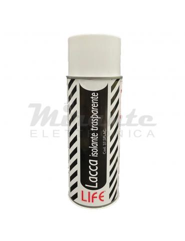 Life Lacca Spray Isolante Trasparente, confezione da 400ml