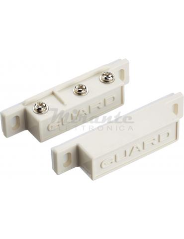 GUARD Contatto magnetico, Com-Nc-No, Bianco