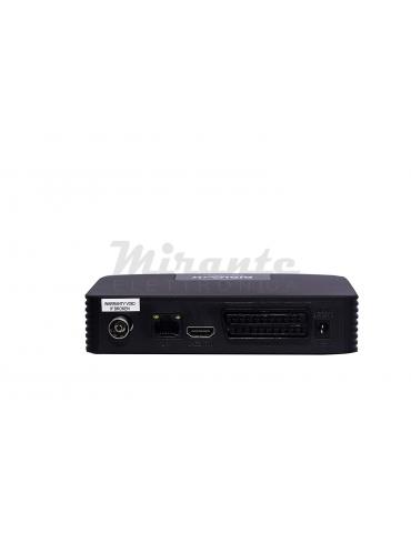 DQ9 Decoder DVB-T2 Box HDMI Scart, alimentazione 12V