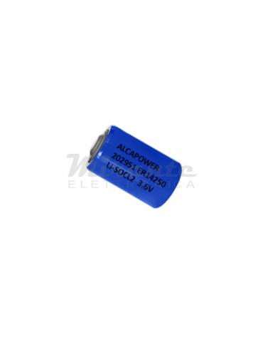 Alcapower ER 14250, Batteria 3,6V 1200mAh Li-SOCL2 1/2AA