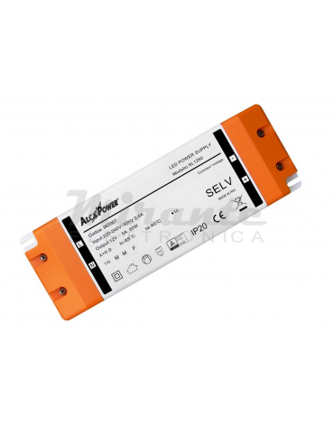 Alcapower Alimentatore Switching IP20 24V 60W 2.5A