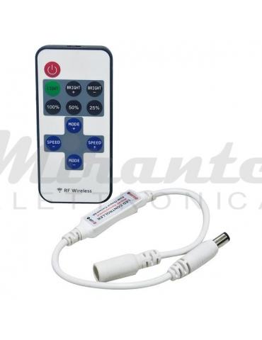 Life Mini controller Led Dimmer, con radiocomando 433,92Mhz