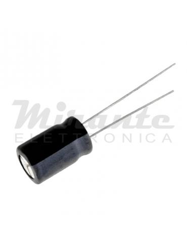 Condensatore elettrolitico 105°, 100uf 50v