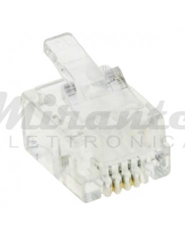 Spina Maschio Plug RJ11, 6p4c