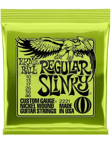 Corde per Chitarra Elettrica Ernie Ball 10-46 Regular Slinky Nound