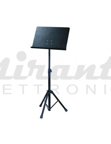 Soundsation Leggio da orchestra tavola in metallo removibile con inserto + borsa in nylon