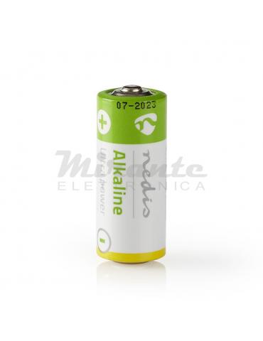 Nedis LR1 - 910A - E90, Batteria Alcalina, 1,5 Volts, Diametro 12mm, Altezza 30,2 mm, Confezione 1 pila