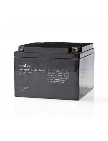 NEDIS - Batteria al piombo Ricaricabile 12V 26Ah