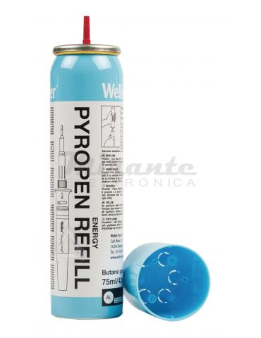 Weller Gas Bomboletta per Saldatore a Gas, Blu