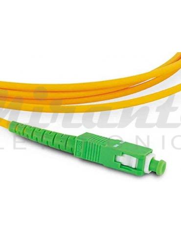 Metronic 470234 cavo a fibra ottica 2 m SC/APC Arancione