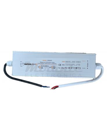 Superlight 12V 100W Led Driver Alimentatore da Esterno con fili IP66