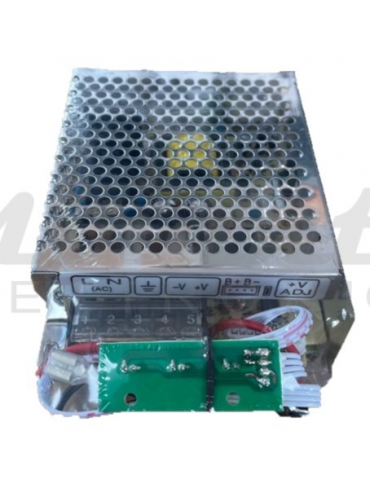 Alimentatore UPS 12v 60W, 2 uscite carica batterie piombo