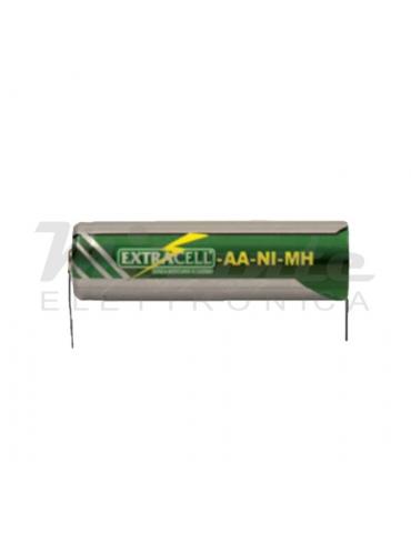 Batteria AA Stilo Ni-Mh 1,2v 1500mAh con Lamelle A Saldare