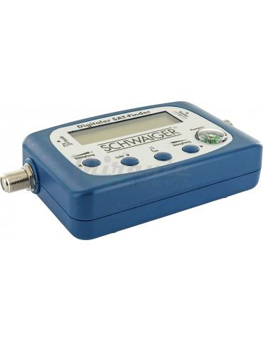 Digisat-e SAT Finder riconoscimento satellitare | ricerca satellitare con bussola integrata e uscita audio | allineamento LN