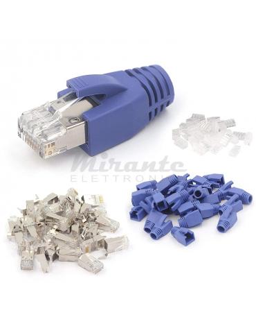 Plug RJ45 CAT7 FTP, confezione da 10 pezzi