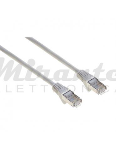 Life - Cavo patch Ethernet Cat6 RJ45 Dritto LSZH, 2 metri