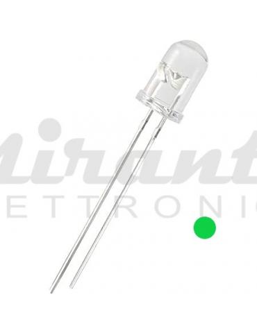 Diodo Led 5mm, Verde