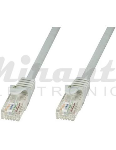 Patch cord STP CAT5e Twist, grigio 3 metri