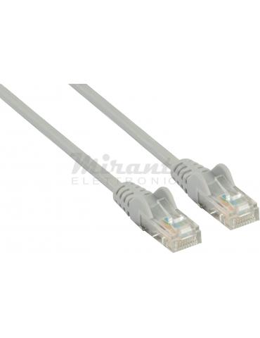 Patch cord UTP CAT5e Twist, grigio 2 metri