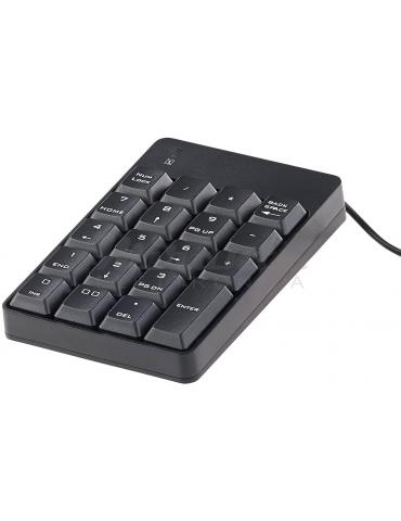Tastiera numerica con 19 tasti, USB 2.0 (Tastierino numerico)