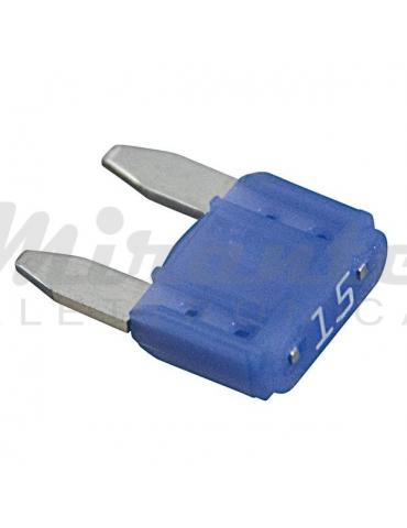 Fusibile a Lama 11.2mm 15 Amp, Blu