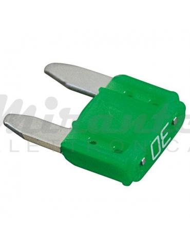 Fusibile a Lama 11.2mm 30 Amp,verde