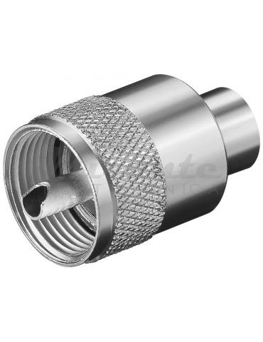 Spina UHF PL259 per cavo RG58
