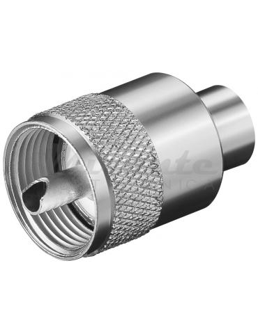 Spina UHF PL259 per cavo RG59