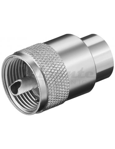 Spina UHF PL259 per cavo RG213