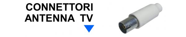 Connettori Antenna TV online: Mirante Elettronica | Acilia RM