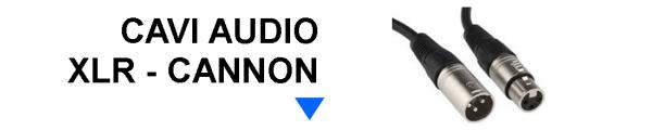Cavi Audio XLR Cannon online: Mirante Elettronica Acilia