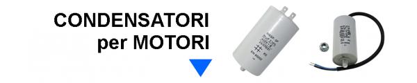Condensatori per Motori