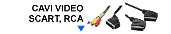 Cavi Video Scart, RCA
