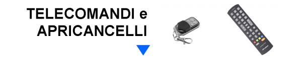 Telecomandi e Apricancelli online: Mirante Elettronica | Acilia