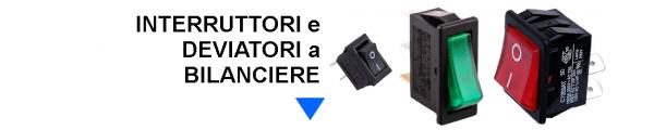 Interruttori e Deviatori a Bilanciere online: Mirante Elettronica